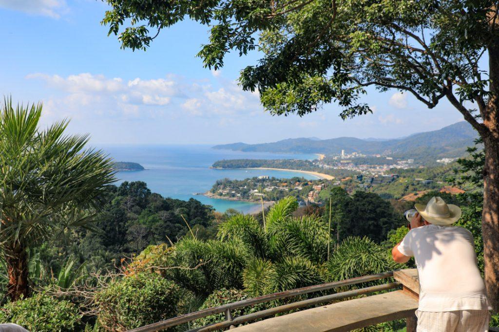 uitzichtpunt op Phuket